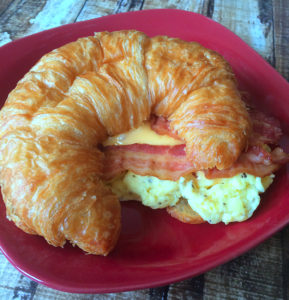 Bacon, Egg and Cheese Croissant