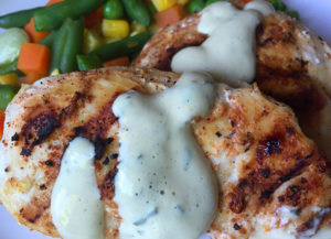 Country Chicken Breast with Mustard Cream Sauce