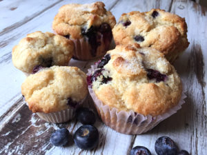 Easy Country Blueberry Muffins Recipe