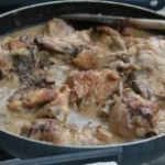 Chicken with White Sauce