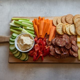 Platter from Above