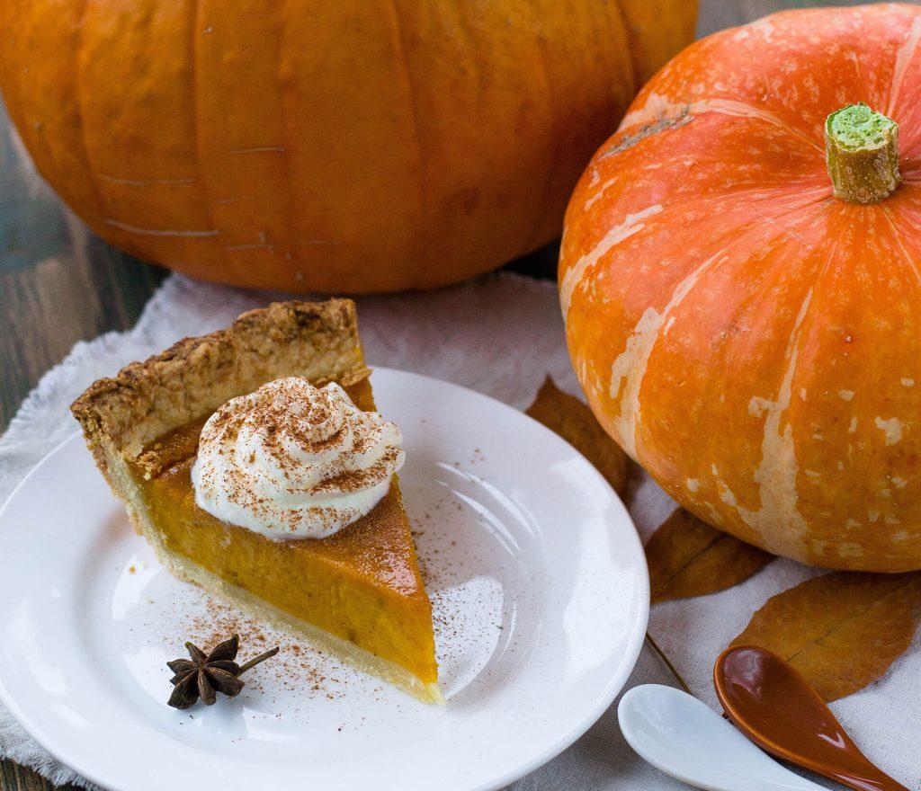 Condensed Milk Pumpkin Pie