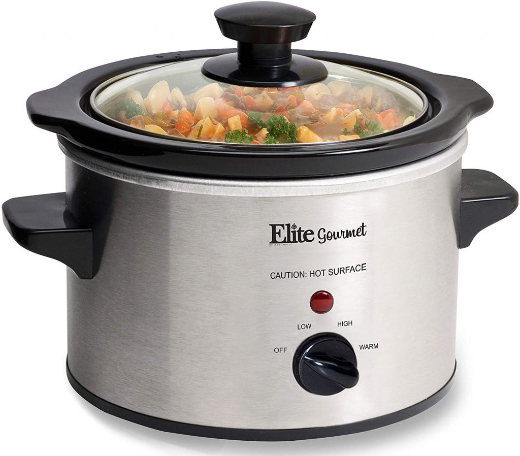 Elite Gourmet MST-250XS Electric Slow Cooker