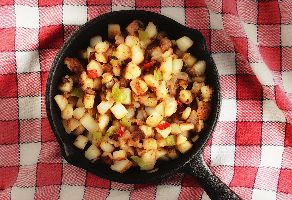 country style hash browns.