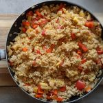 Savoury Rice in a pan