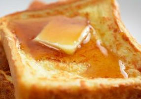 Grandmas French Toast with Butter
